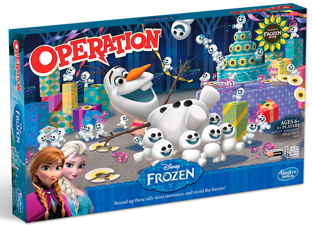 Disney Frozen Fever Operation
