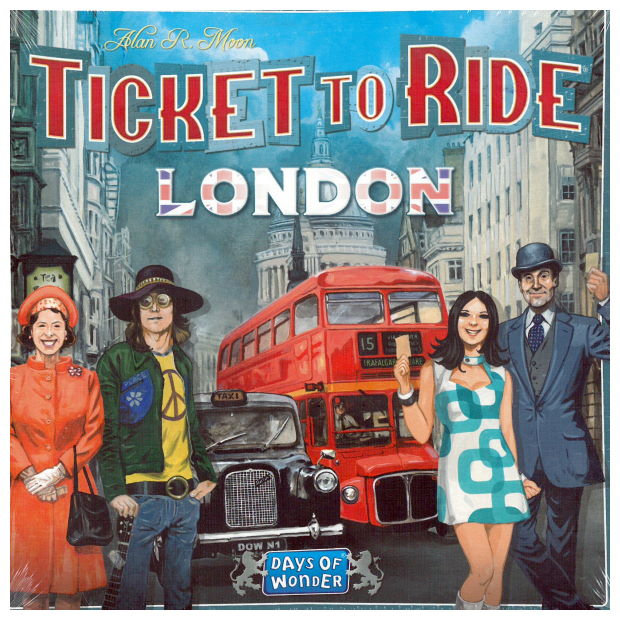 Ticket To Ride London - Hinta 21,90 €