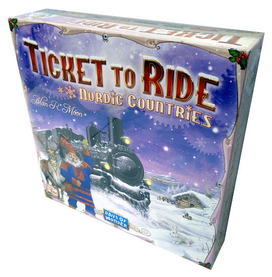 Ticket to Ride Nordic Countries (Menolippu Pohjoismaat) - Hinta 36,90 €
