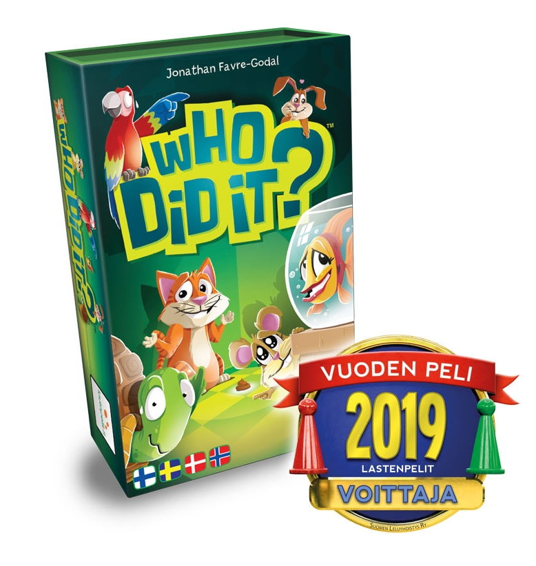 Who Did It? - Hinta 11,80 €